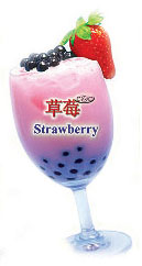 CZC Bubble Tea Supplier - Bubble Tea Flavor - Strawberry